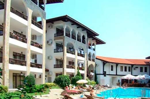 Appartementen Severina voorkant