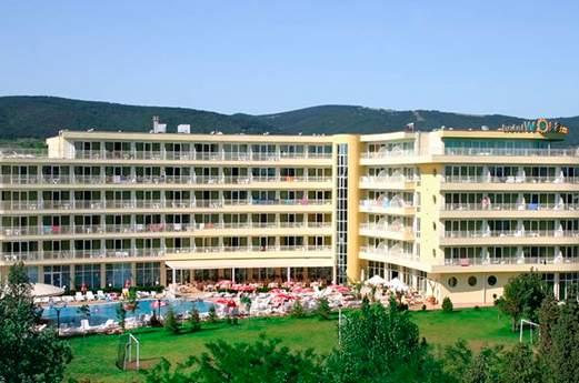 Aparthotel Wela voorkant