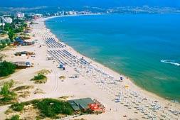 strand van sunny beach